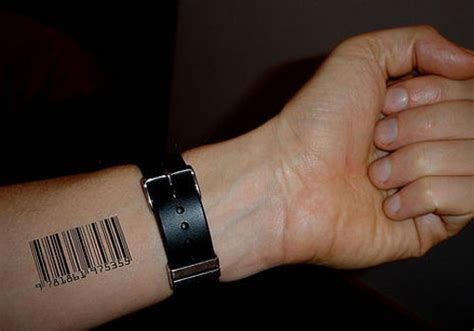 barcode tattoos on wrist 31 different barcode ideas creativefan