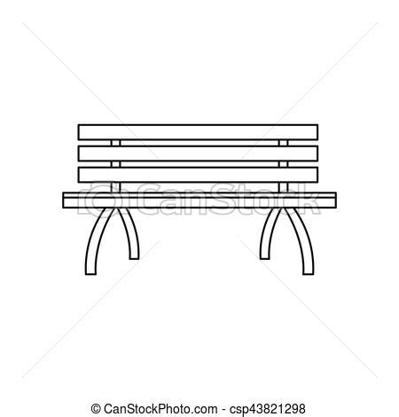 Dessin De Banc by Banc Parc Ic 244 Ne Sur Parc Illustration Banc
