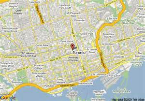 map of howard johnson hotel downtown toronto yorkville