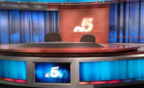 News Studio Desk by Rural Station Upgrades Set With Familiar Look