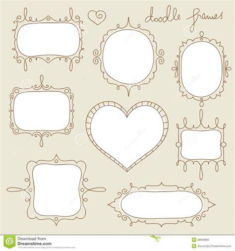 doodle frame free doodle frames stock vector illustration of copy design