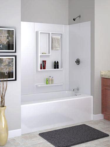 Menards Bathtub Surrounds by Reversible 60 Quot X 30 Quot 4 Bathtub Wall Set At Menards 174