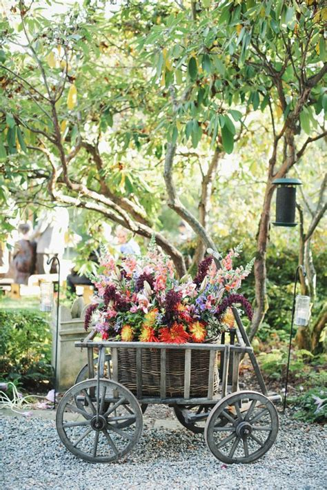 Outdoor Garden Decor Ideas Rustic Outdoor Wedding Decor Ideas