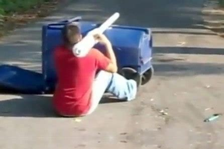 blow up boat head explodes raggedy homemade potato gun blows up darwin awards video