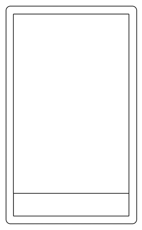 Tarot Card Template By Arianod On Deviantart Blank Trading Card Template