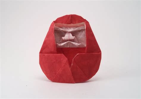 Origami Daruma - masamichi noma gilad s origami page