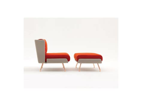 Small Armchair With Footstool Buy The Knoll A A Small Armchair With Low Back At Nest Co Uk