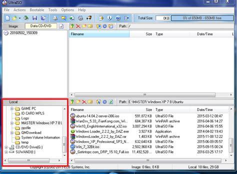 cara membuat file iso dari file dengan ultraiso cara membuat instalasi bootable dengan ultraiso suwandi