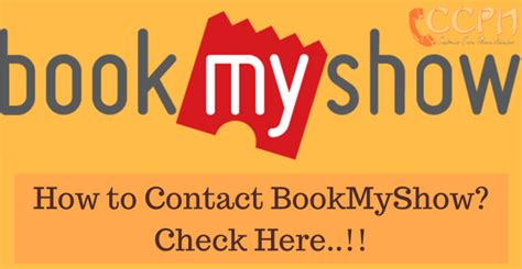 bookmyshow number bookmyshow customer care phone number email id office