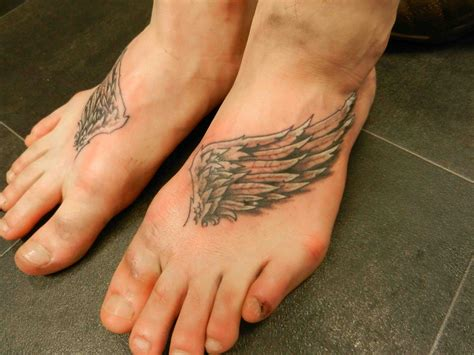 small angel wings tattoo on foot www imgkid com the angel wing tattoos designs ideas and meaning tattoos