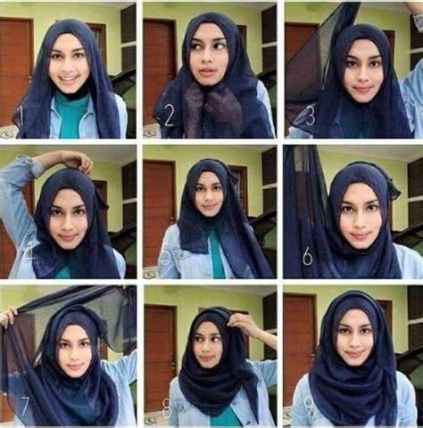 simple niqab jilbab tutorial 40 best hijab tutorial images on pinterest hijab styles