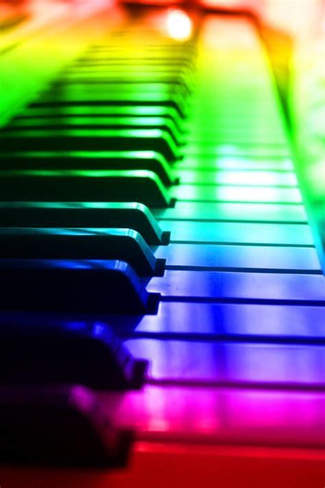 Rainbow Piano rainbow piano bunt