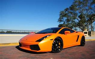 Lamborghini Orange Lamborghini Gallardo Orange Wallpaper Hd Car Wallpapers
