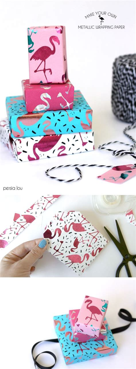 Make Your Own Gift Wrapping Paper - 1000 ideas about wrapping papers on gift