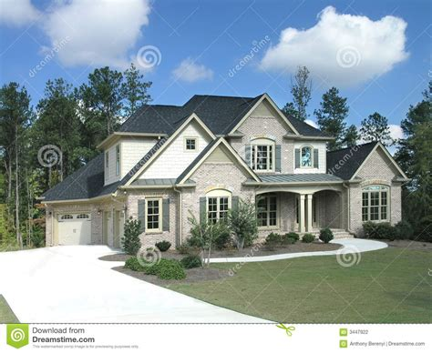luxury house exterior in 334 luxury home exterior 25 stock photography image 3447922