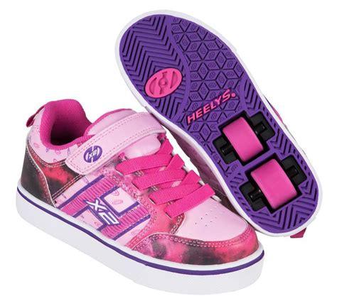 heelys light up shoes heelys x2 bolt light up pink purple space heelys shoes