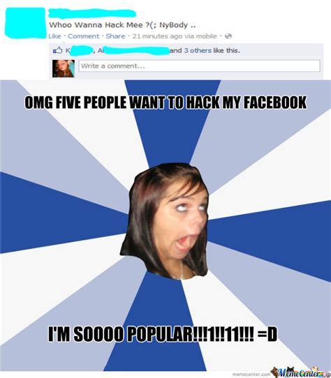 Memes In Facebook - meme stupid facebook girl image memes at relatably com