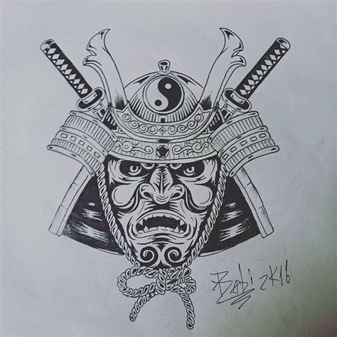 tattoo japanese stencils samurai mask tattoo stencil akumababi japanesetattoo