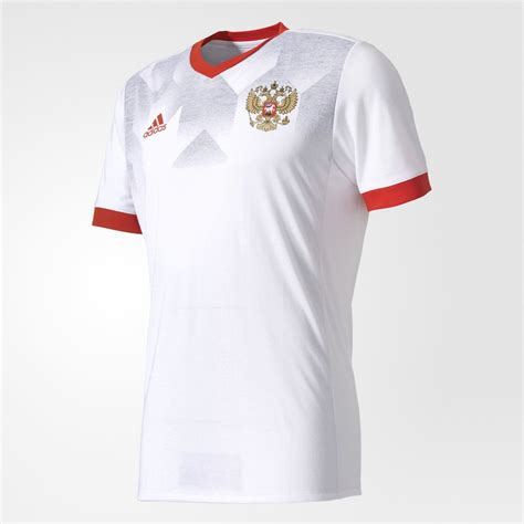 adidas russia adidas russia 2017 home pre match jersey white red