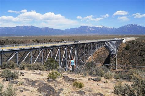 rio grande gorge bridge tripadvisor from the north side of the bridge had to go beyond the