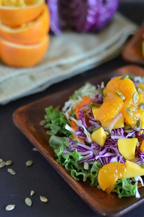 Whole Foods Mango Detox Salad by Whole Foods Tangerine Detox Salad With Free Dressing