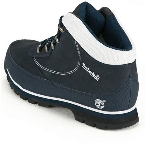 blue timberland boots mens timberland timberland brook mens hiker boots navy in