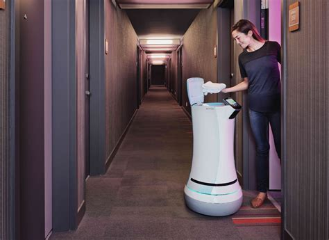 Hotels With Room Service by This Room Service Robot Is Gaining Ground In The World S
