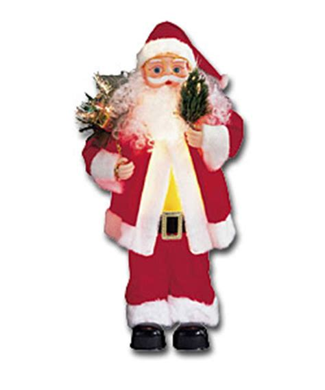 fibre optic santa christmas decoration review compare
