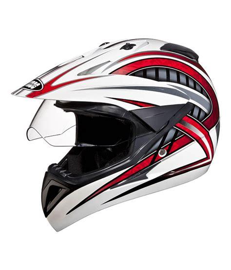 studds motocross helmet studds full face helmet motocross decor d2 white n2