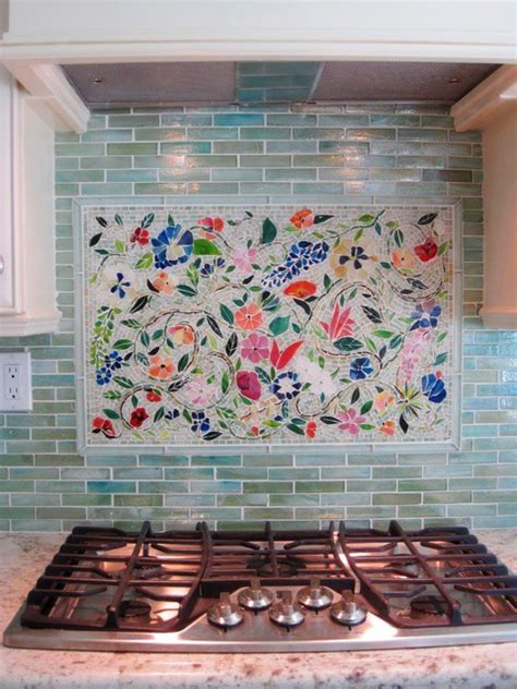 mosaic tile backsplash kitchen creating the kitchen backsplash with mosaic tiles