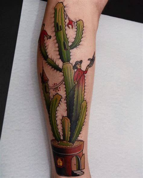 cactus castle tattoo best tattoo ideas gallery