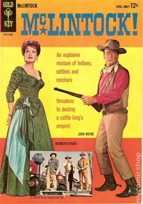 film with cartoon books mclintock 1964 movie comics comic books