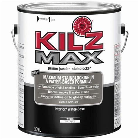 kilz kilz max interior primer sealer stainblocker 3 79