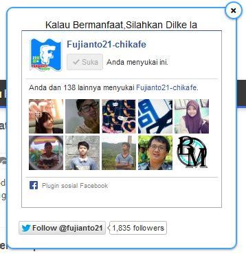 membuat fanspage twitter cara membuat fanspage melayang di blog fujianto21 chikafe