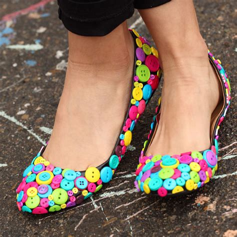 diy shoes makeover 18 cool and diy shoe makeovers glam radar