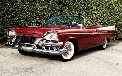 retro cers 1961 dodge dart phoenix d500 convertible wallpaper