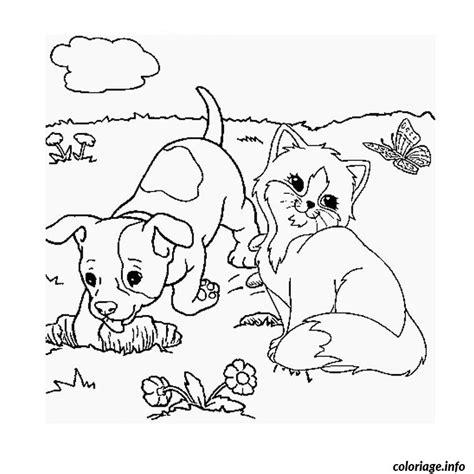 coloriage de chaton a imprimer az coloriage coloriage chaton et chiot dessin
