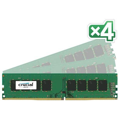 Crusial Olshop 288 crucial 16gb 4 x 4gb ddr4 288 pin udimm 2133 ct4k4g4dfs8213