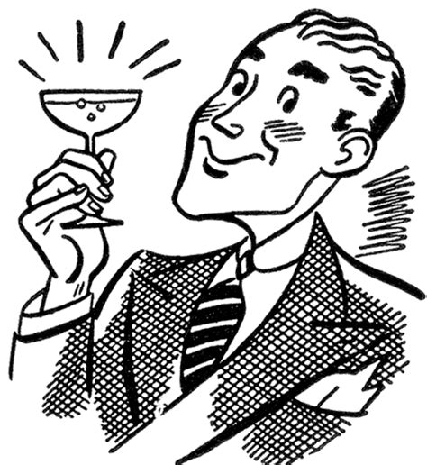 vintage martini clipart retro martini image the graphics
