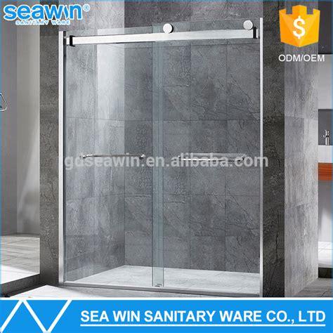 bathroom shower glass door price luxury bathroom design oem custom frameless sliding glass