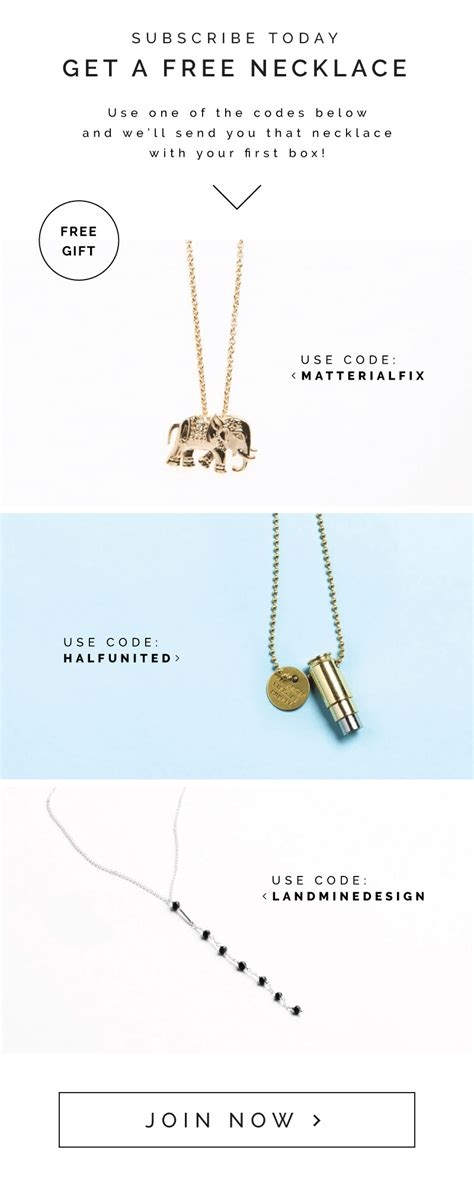 Gkr 090 Rise Necklace causebox canada day coupon 2 free items with subscription hello subscription