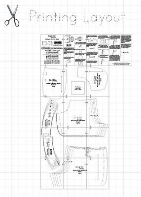 pattern drafting grading pattern drafting adobe and adobe illustrator on pinterest