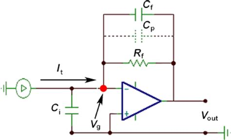 resistor voltage to current converter circuit diagram of a current to voltage converter ivc where r f is