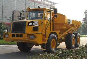 Articulated dump trucks dozer ro