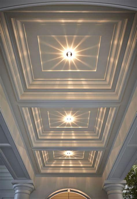Plafond Moderne by Faux Plafond Platre Moderne Couloir