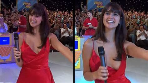 187 nsfw moment the price is right model pops out of dress