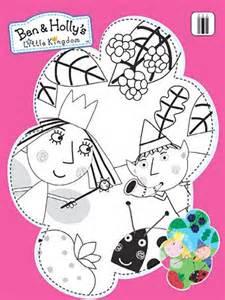 ben holly kingdom print colour abc kids