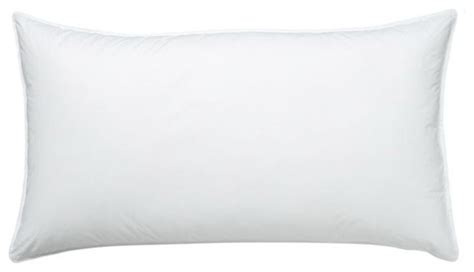 white bed pillows cuddledown 50 50 white duck feather and down pillow soft