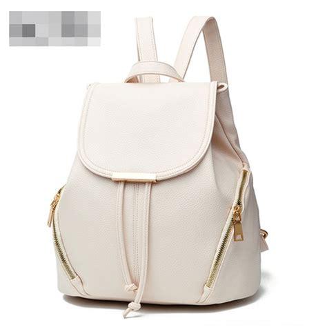Tas Murah Tas Promo B2443 jual b0210 white tas ransel fashion sekolah grosirimpor
