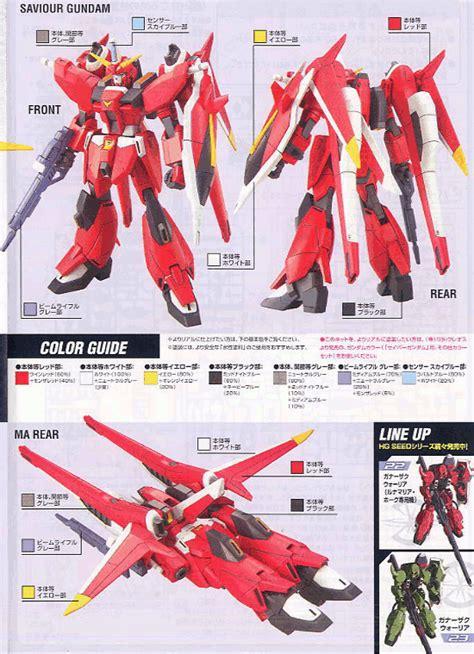 Rm 038 Grade Premium 1 024 hg 1 144 saviour gundam bandai gundam models kits